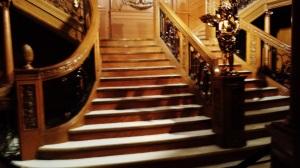 Replica of the Grand Staircase - The Titanic
